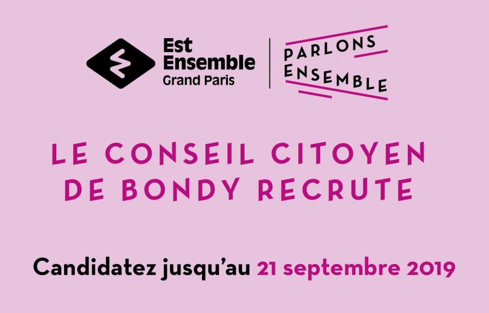 aa44ad4388d Le Conseil citoyen de Bondy recrute ! - Site officiel de la ville de ...