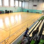 équipement sportif gymnase gradins