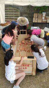 Ateliers d'archéologie funéraire